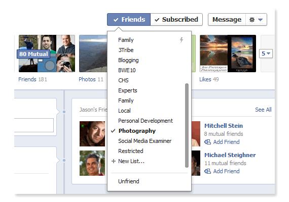 Facebook Add To Friend List