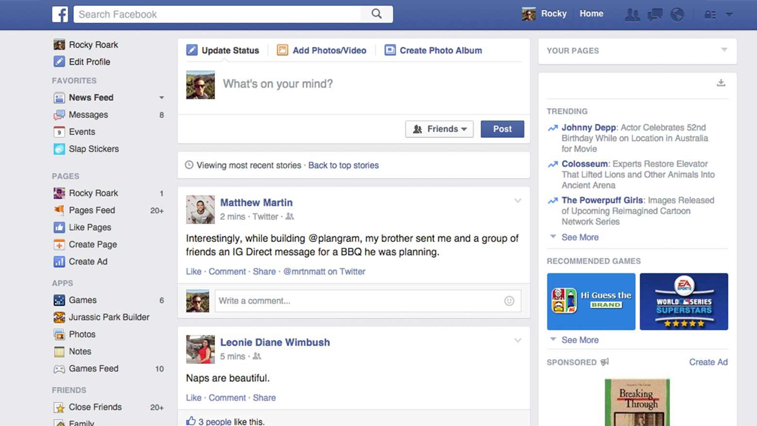 facebook-timeline-screenshot