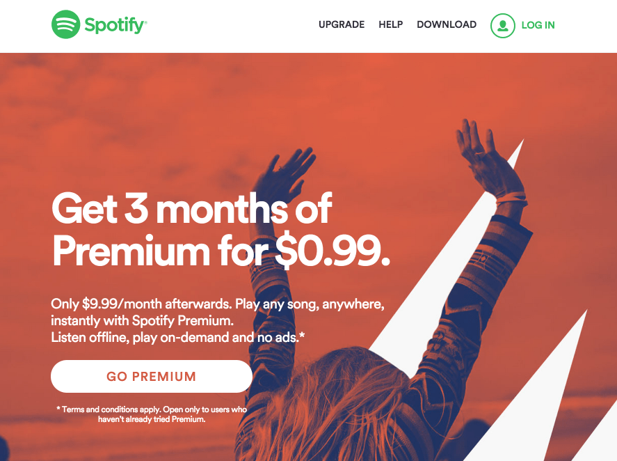 spotify-homepage-few-options