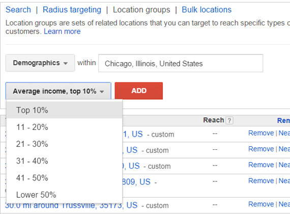 google-adwords-targeting-income