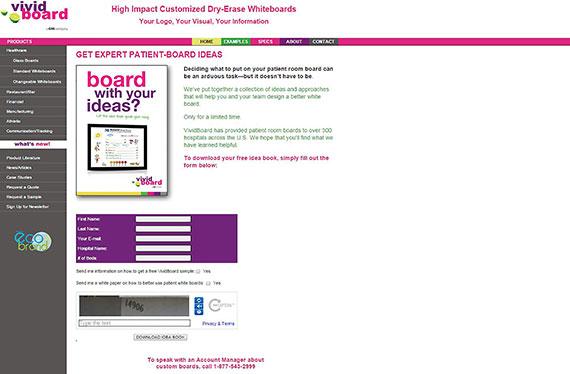 vividboard-landing-page-before