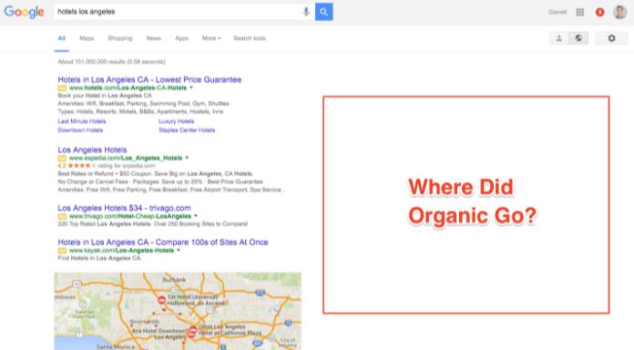 where-did-organic-search-go-google