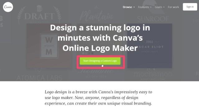 canva logo design 2018