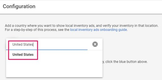 ad store country in adwords