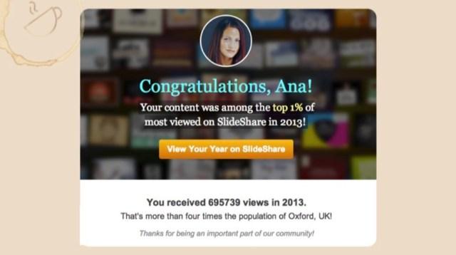 congratulations ana slideshare