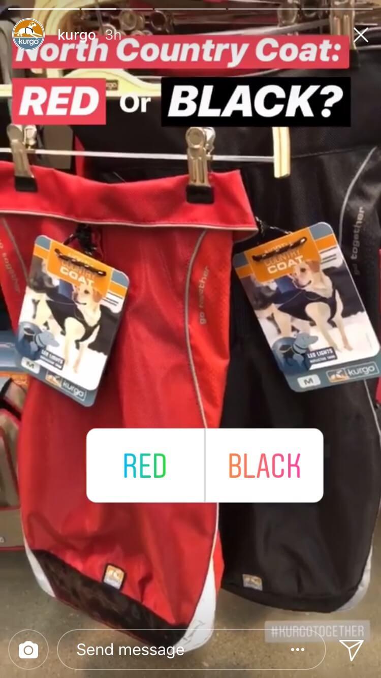 kurgo red or black instagram