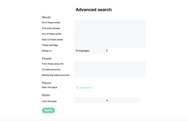 twitter advanced search fields
