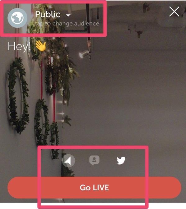 periscope go live