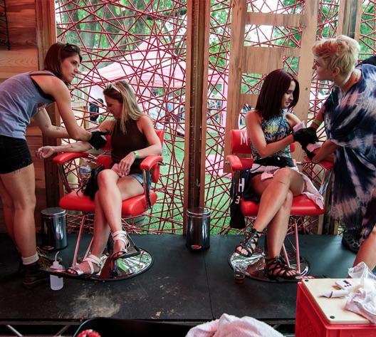 tattoo parlor pitchfork festival