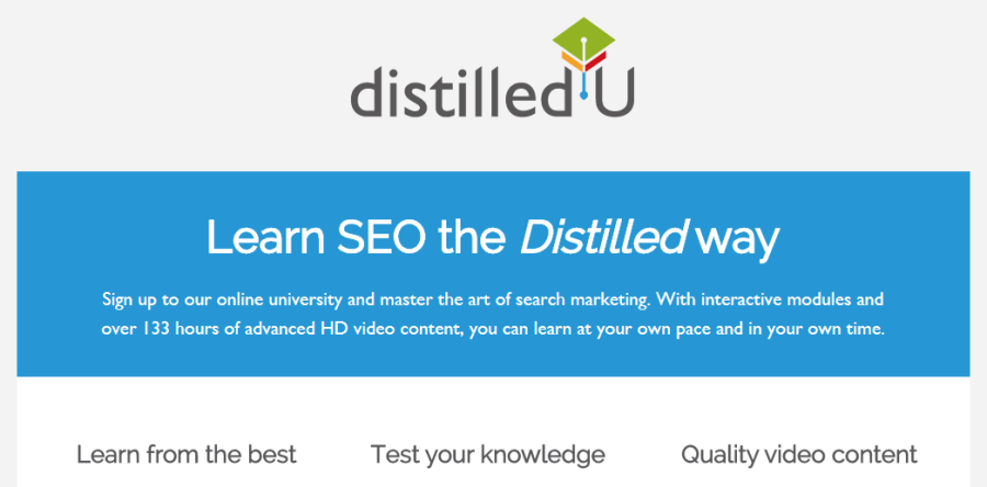 distilledu learn seo