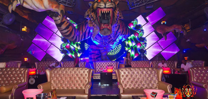 Digital signage for a club - Tiger Nightclub in Phuket - Kitcast Blog