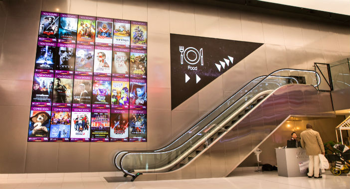 Digital signage for a cinema: Reel Cinemas in Dubai - Kitcast Blog