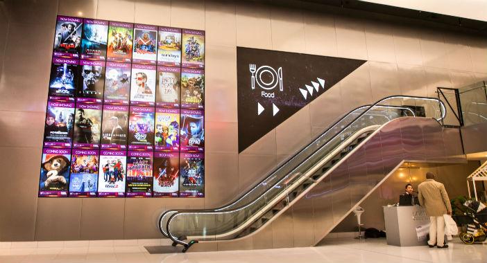 Digital signage for a cinema: Reel Cinemas in Dubai - Kitcast Blog