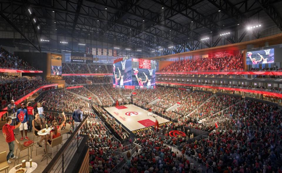 State Farm Arena with NBA's First 360° LED Screen - Kitcast Blog