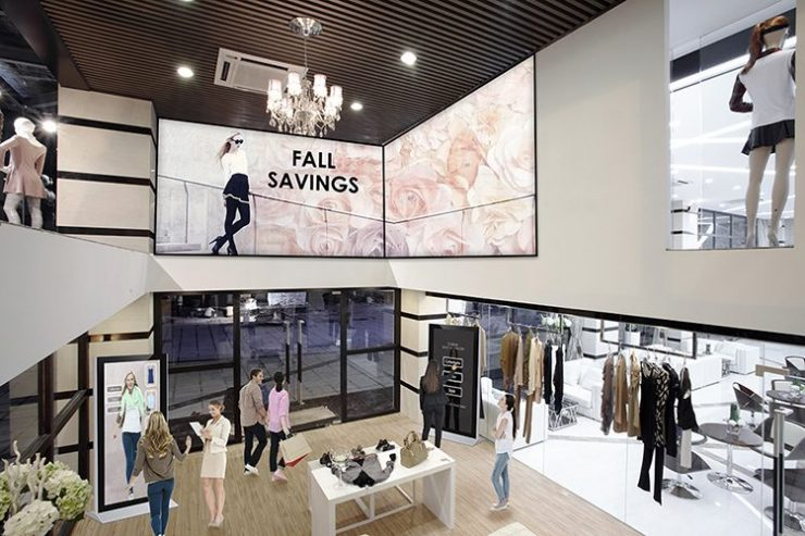 Digital Signage in Clothes Store - Kitcast Blog