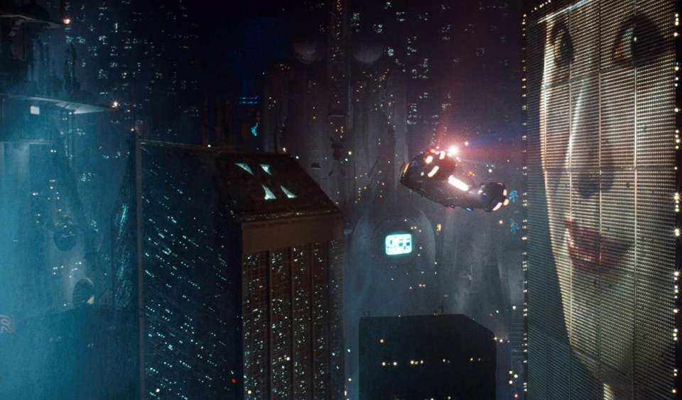 Blade Runner 1982 5 Great Examples Of Digital Signage In Movies - 2
