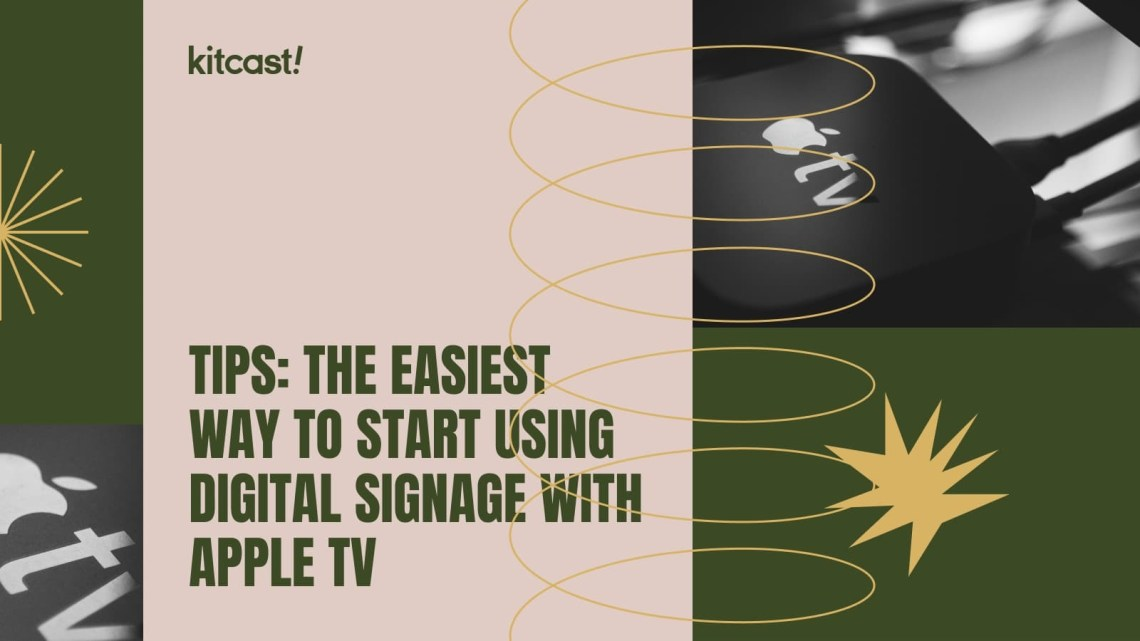 digital signage with apple tv
