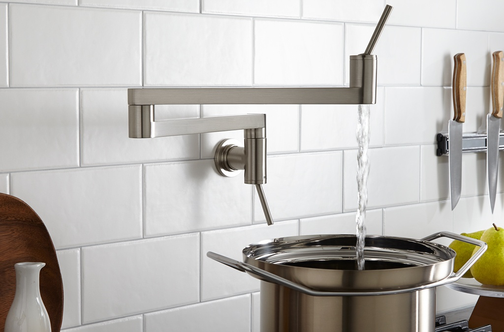 a pot filler in your kitchen