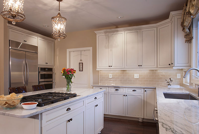 are kitchen hardware and lighting