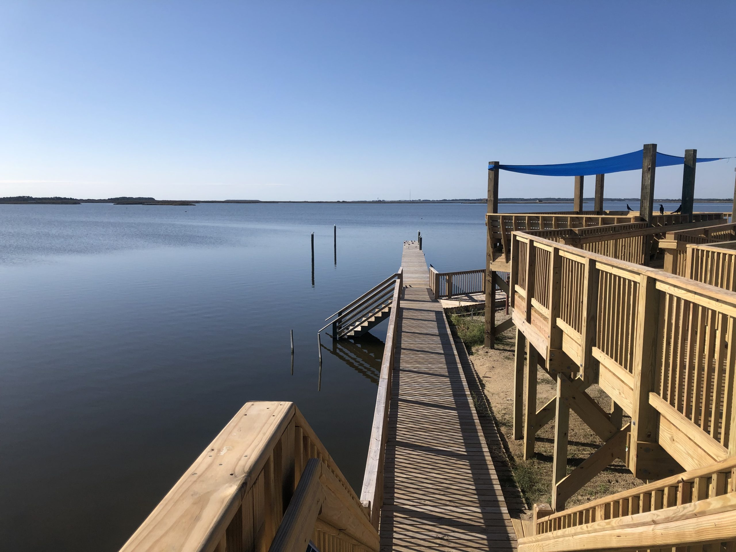 new Whalebone watersports center dock