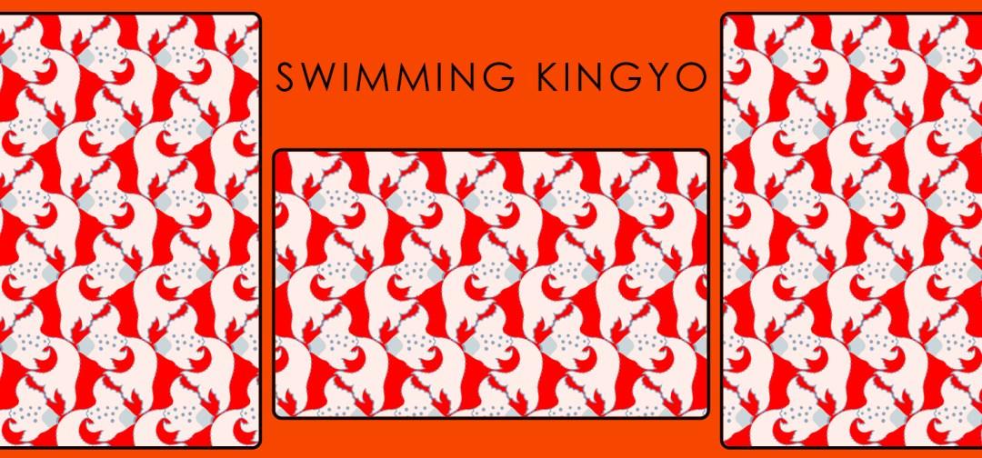 Swimming Kingyo
