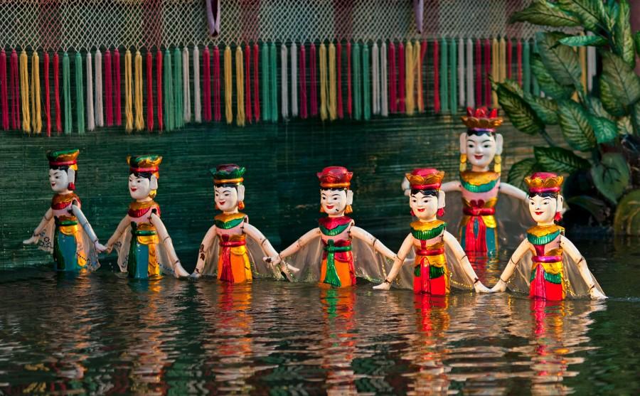 越南河內昇龍戲院水上木偶秀
