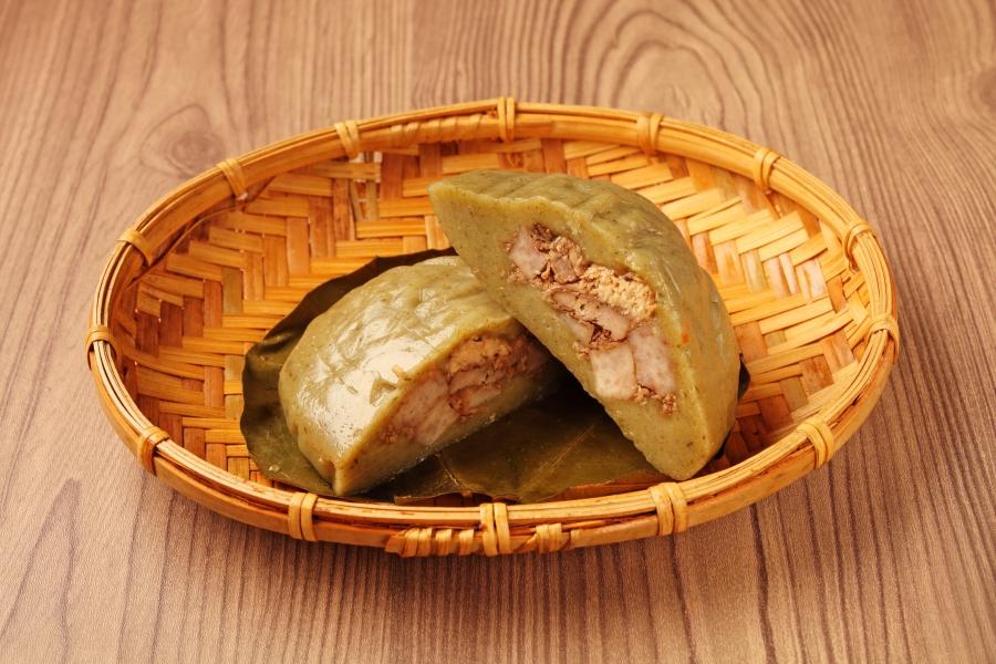 客家美食:客家菜包(豬籠粄)