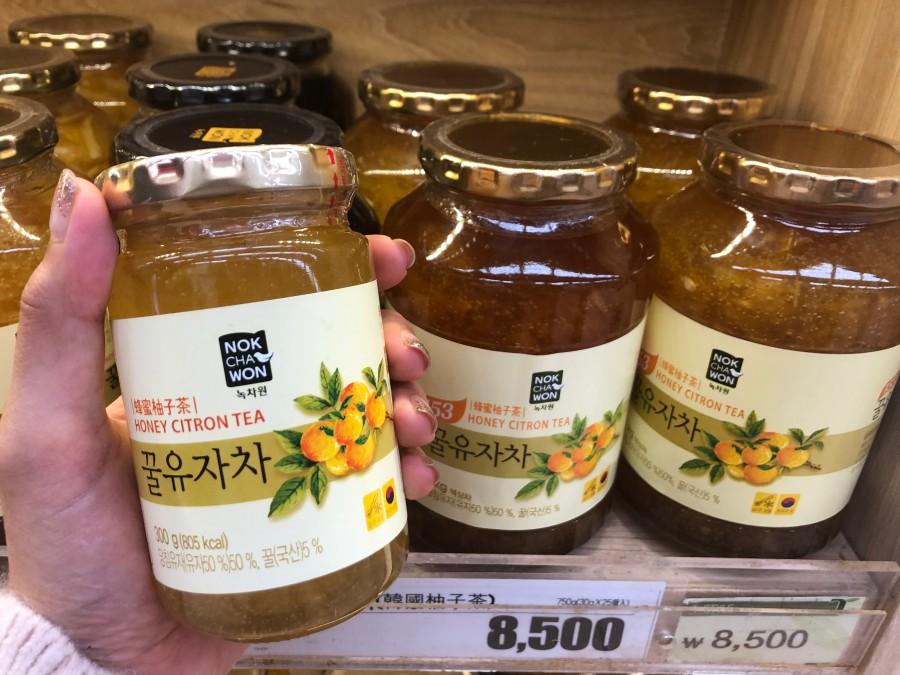 韓國首爾必買伴手禮 柚子茶