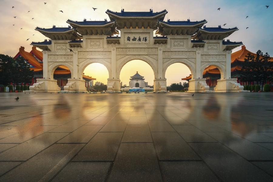 Taiwan Taipei Chiang Kai shek Memorial Hall AShutterstock 393803512