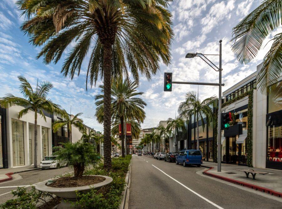 洛杉磯/景點/推薦/羅迪歐大道/比佛利山莊/入境美國