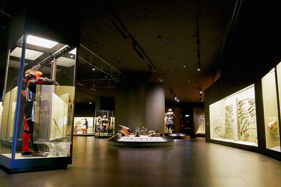 奇美博物館/台南景點/兵器廳