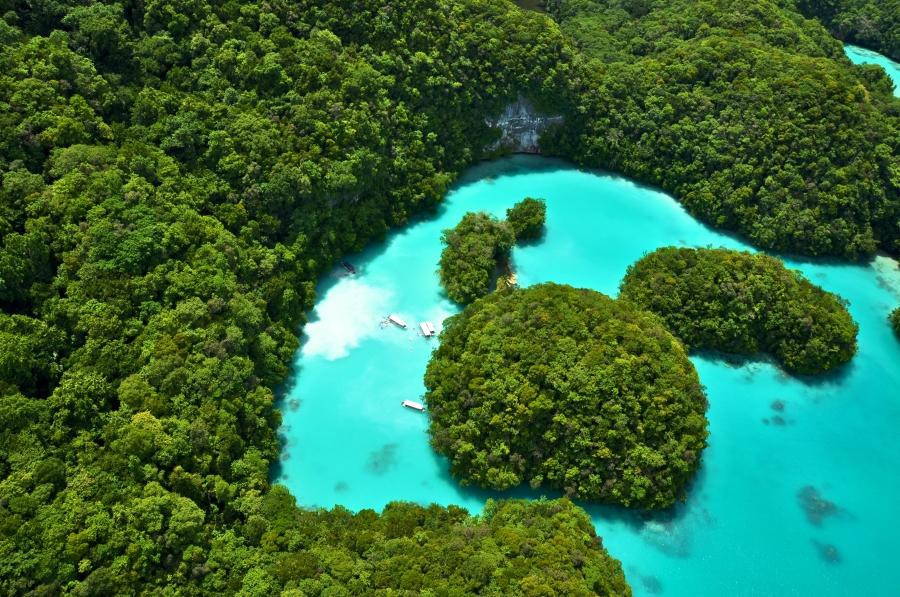 帛琉旅遊泡泡/帛琉景點/牛奶湖