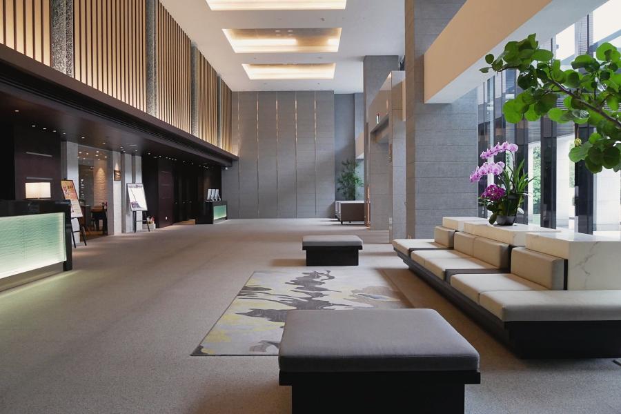 北投溫泉:北投亞太飯店大廳