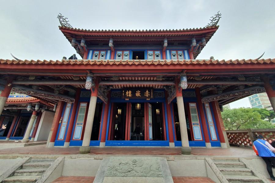 台南景點:赤崁樓
