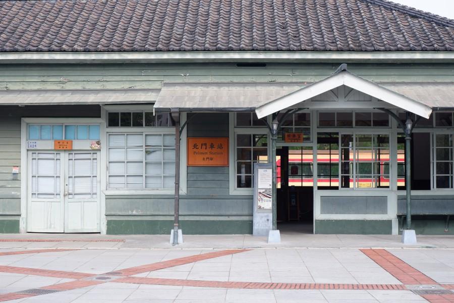 嘉義景點 北門車站