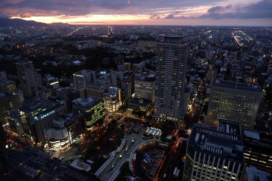 北海道札幌 JR Tower夜景