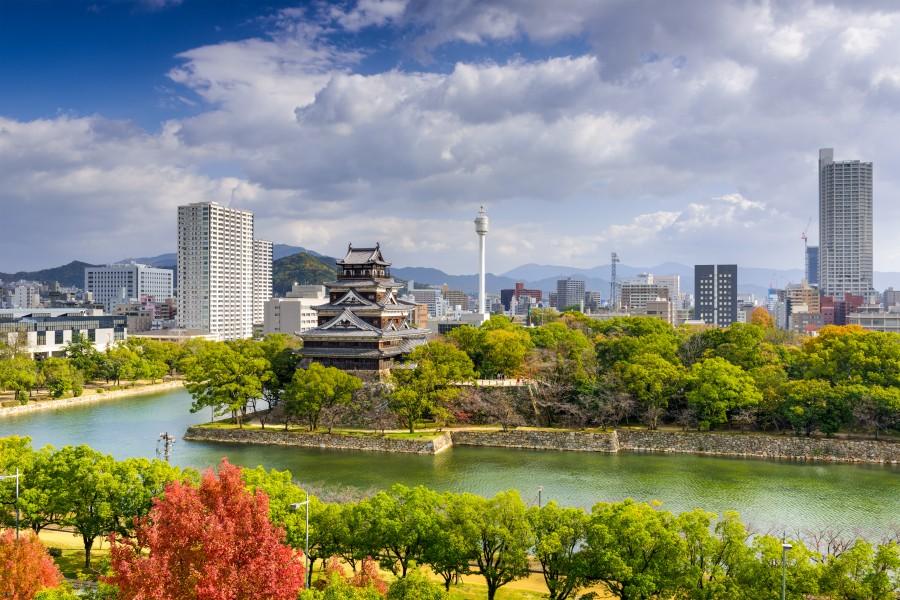 batch Japan Hiroshima City View Ashutterstock 346701233