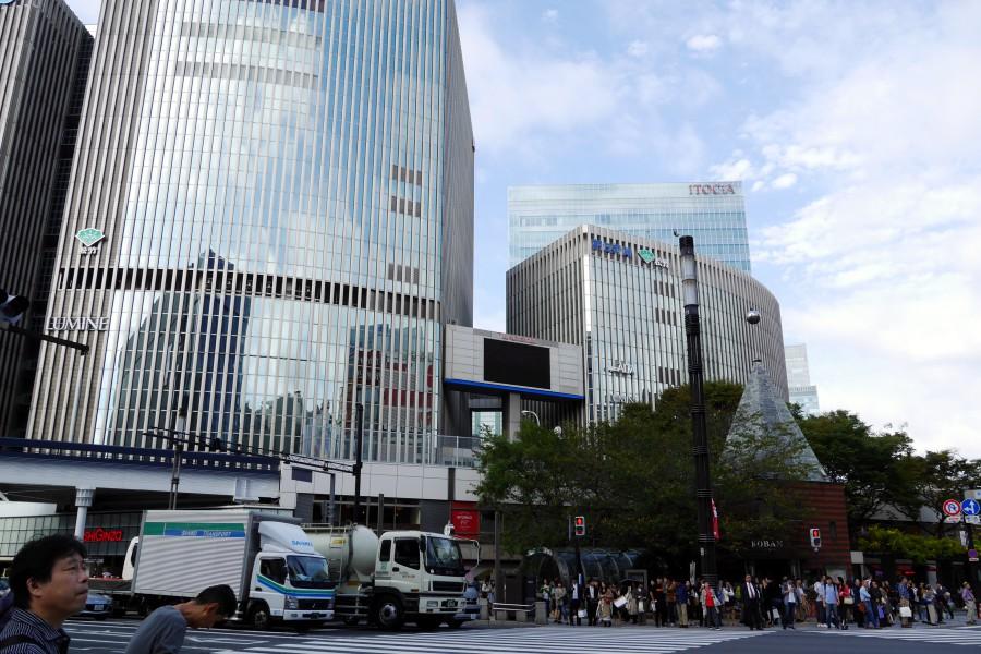東京有樂町、日比谷
