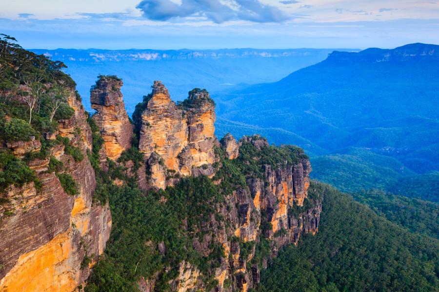 batch    Australia 雪梨近郊藍山國家公園 Blue Mountains National Park Ashutterstock 184967273