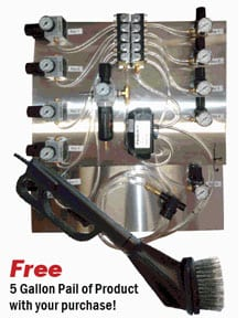 Tireshine-System Self Serve Car Wash Equipment - Tire Shine