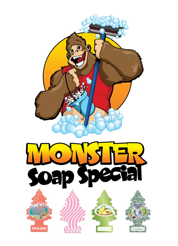 Monster Soap Special Graphic