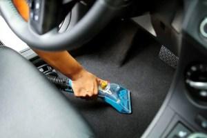 Mytee Upholstery Tool Cleaning Floor