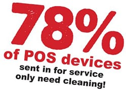 pos-cleaning Device Cleaning Cards