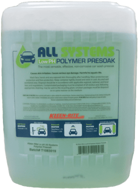 Presoak-png Hey Jay! What's New in Car Wash Chemicals?
