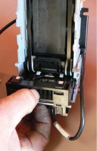 Removing stacker mag-head