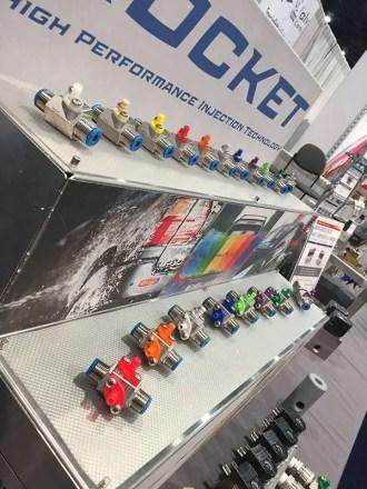 dema rocket injector line-up