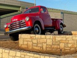 Red Antique Truck