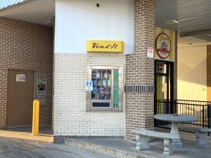 Car Wash Vending Area