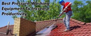 Productivity Boosting Pressure Washing Equipment