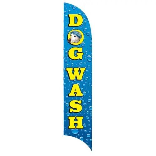 dog wash flag